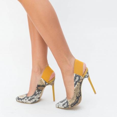 Pantofi Estan Galbeni