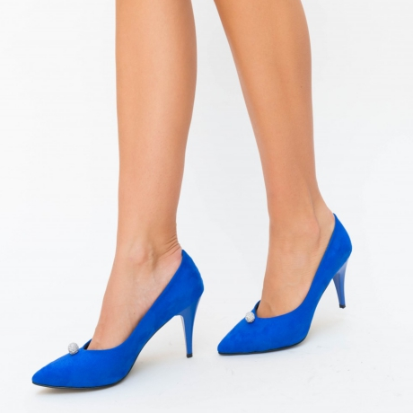 Pantofi Fermer Albastri