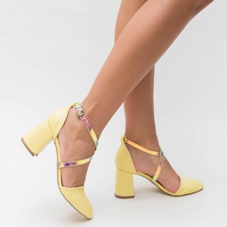 Pantofi Inter Galbeni 2