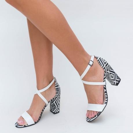 Sandale Gelda Albe