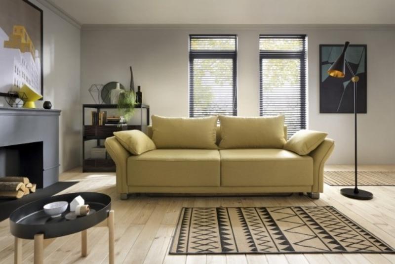 Canapea extensibila cu lada de depozitare 3 locuri Loretto