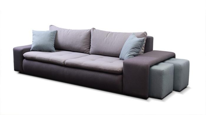 Canapea extensibila cu lada de depozitare 3 locuri Matero