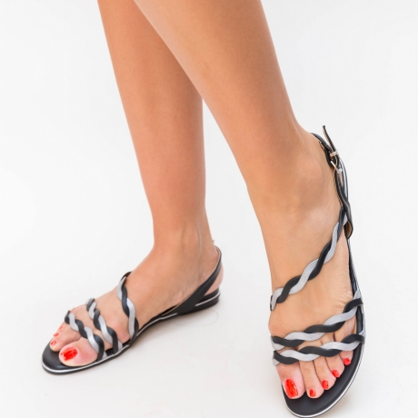 Sandale Jambe Negre