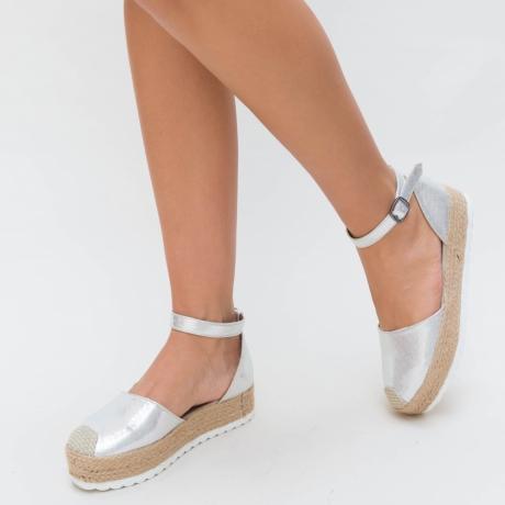 Sandale Pelo Argintii
