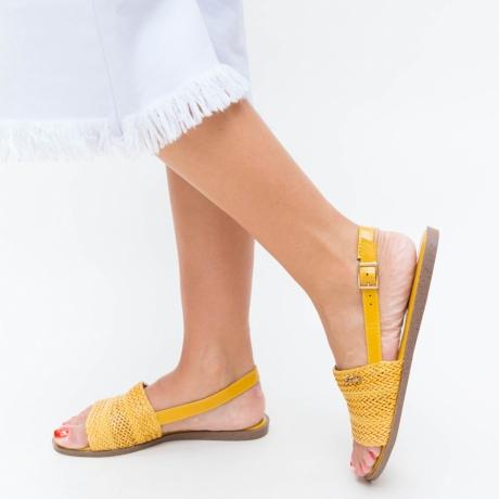 Sandale Revolt Galbene