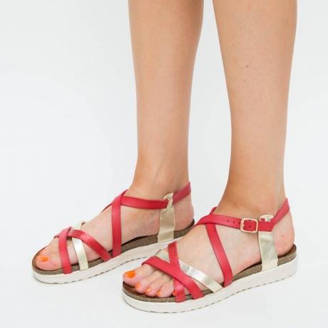 Sandale Uzet Rosii