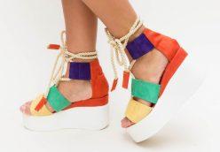 sandale dama cu platforma vara 2019