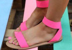 sandale dama ieftine cu talpa joasa vara 2019