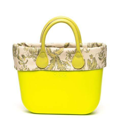 O bag Geanta shopper cu detalii florale