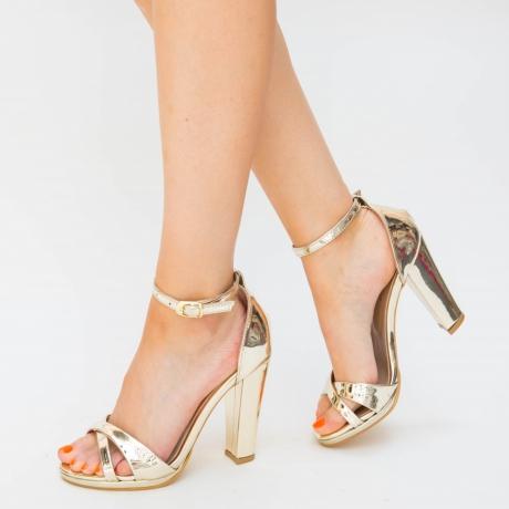 Sandale Poli Aurii