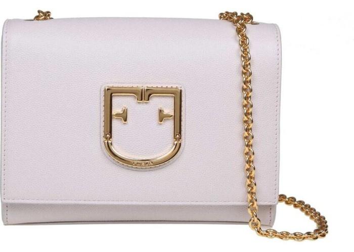 Furla Viva Mini Bag In Ecru Color