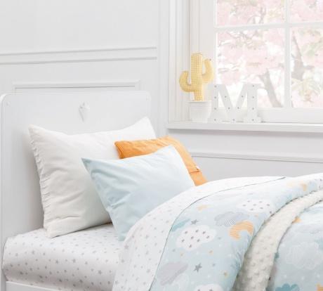 Lenjerie de pat copii bumbac Sky Verde Mint