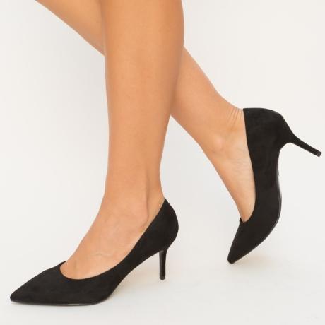 Pantofi Fasido Negri