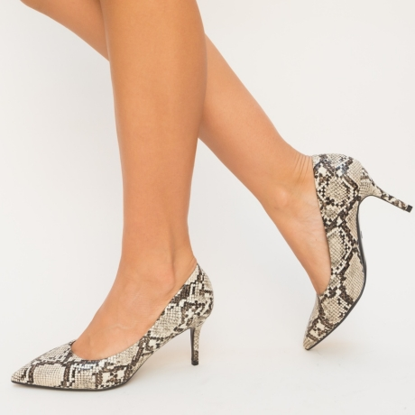 Pantofi Teono Bej