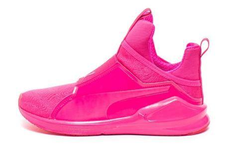 Puma Pantofi slip on mid-hi, pentru dans Fierce Bright
