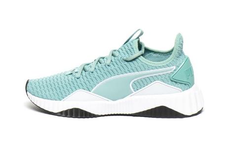 Puma Pantofi sport slip-on din material textil Defy Wn's