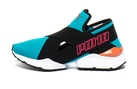 Puma Pantofi sport slip-on, din material textil, pentru fitness Muse EOS 2