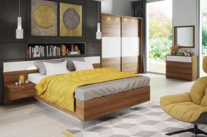 Set Mobila Dormitor 6 piese Zefir