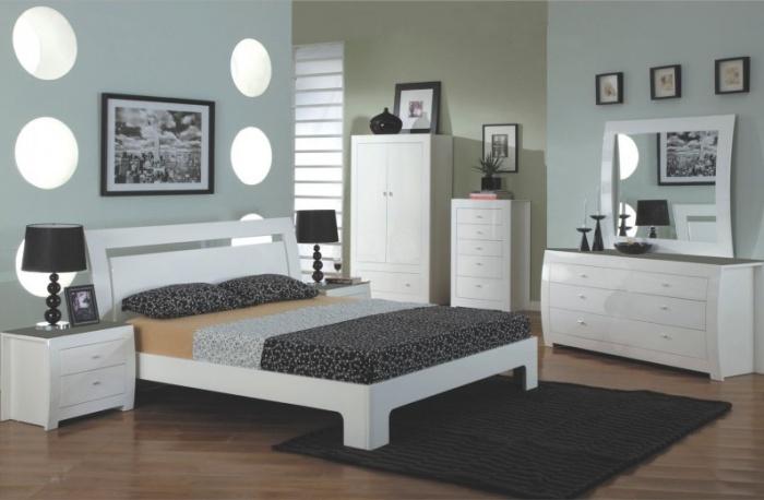 Set Mobila Dormitor Newport White