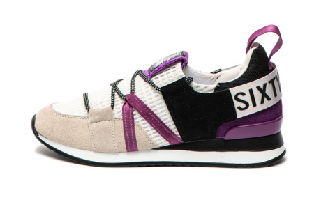 Sixty Seven Pantofi sport cu garnituri de piele intoarsa si insertii de plasa