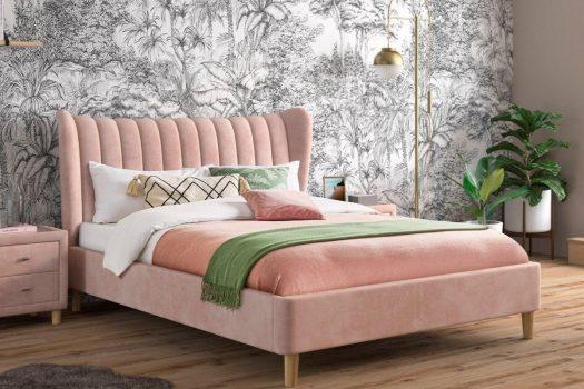 Paturi tapitate pentru dormitor – modele prevazute cu lada de depozitare