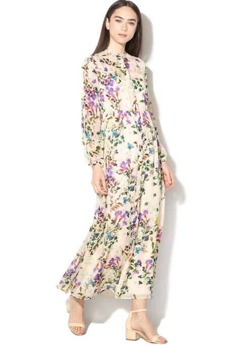 Pennyblack Rochie tip camasa cu model floral Marinaio