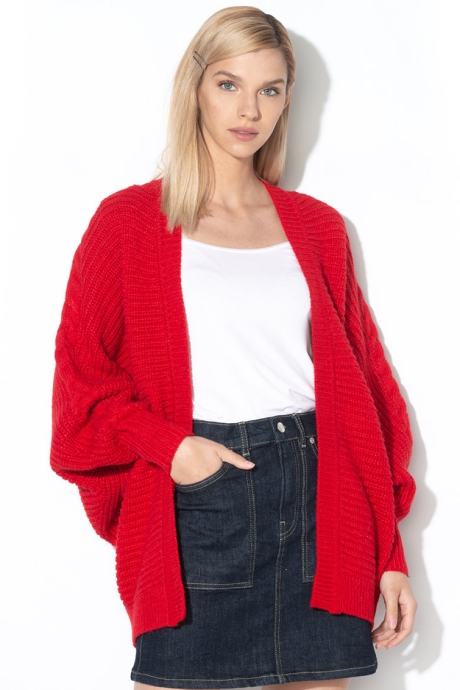 Pepe Jeans London Cardigan cu croiala supradimensionata Katty