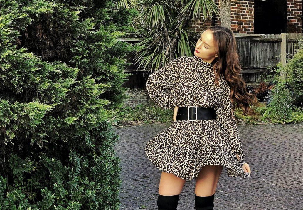 rochii dama ieftine cu animal print-min