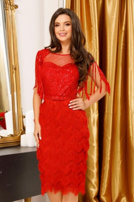 Rochie Irena Red