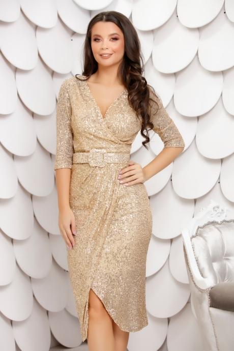 Rochie Olya Gold