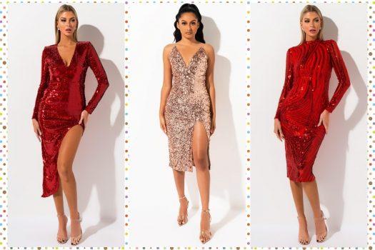 Cele mai frumoase rochii de club pentru Craciun si Revelion
