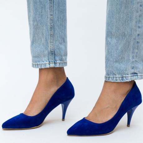 Pantofi Buhas Albastrii