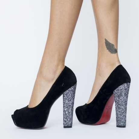 Pantofi Serean Gri