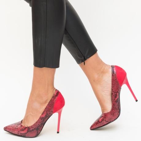 Pantofi Verbe Rosii