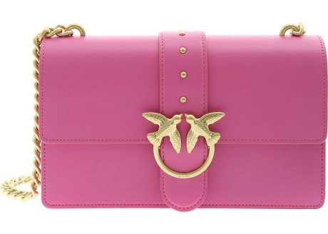 Pinko Love Simply 11 Bag In Fuchsia