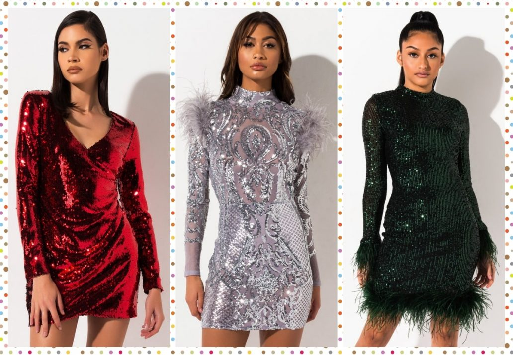 rochii cu paiete ieftine revelion 2020-min