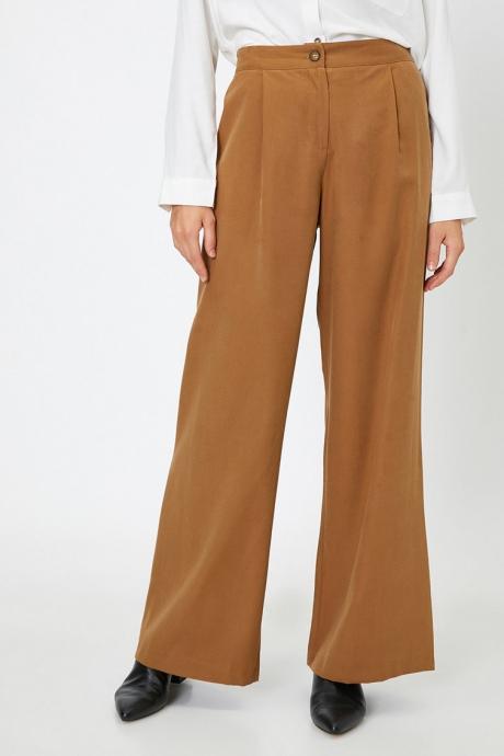 KOTON Pantaloni cu croiala ampla
