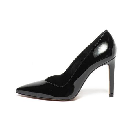 Karen Millen Pantofi stiletto de piele lacuita Ella