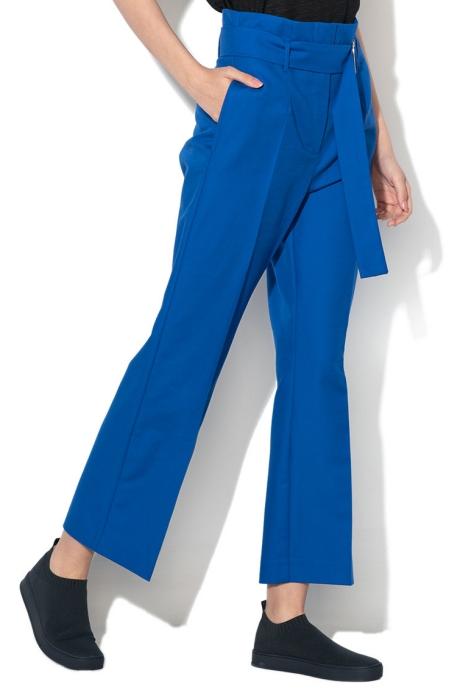 Max&Co Pantaloni cu talie inalta si croiala ampla