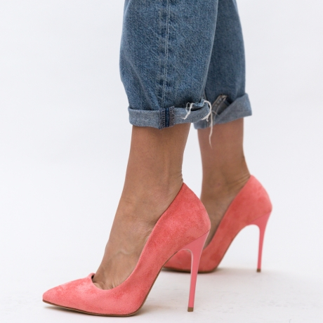 Pantofi Antiqua Roz