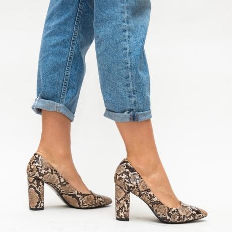 Pantofi Arlon Bej