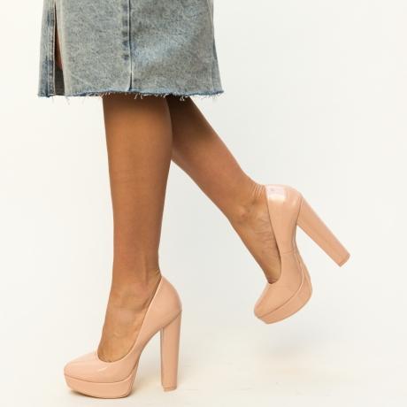 Pantofi Casual Sender Nude