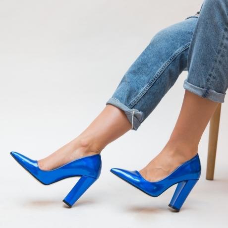 Pantofi Dekor Albastri