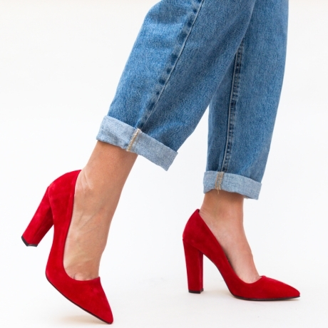 Pantofi Felicity Rosii