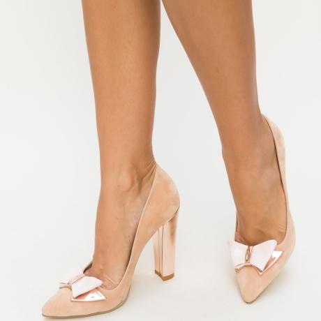 Pantofi Fiz Roz