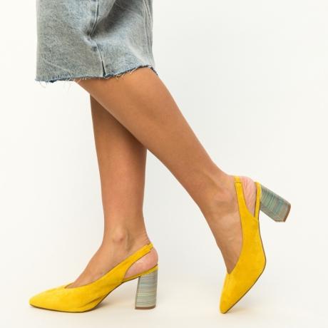 Pantofi Iwan Galbene