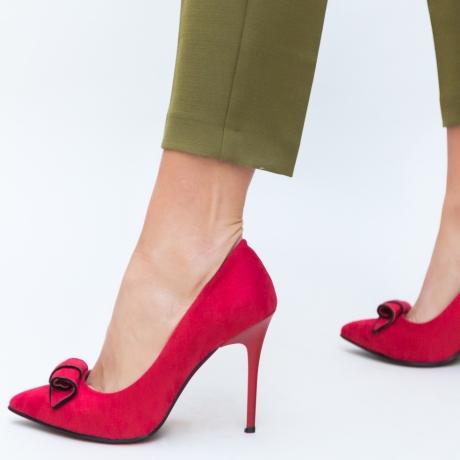 Pantofi Manel Rosii
