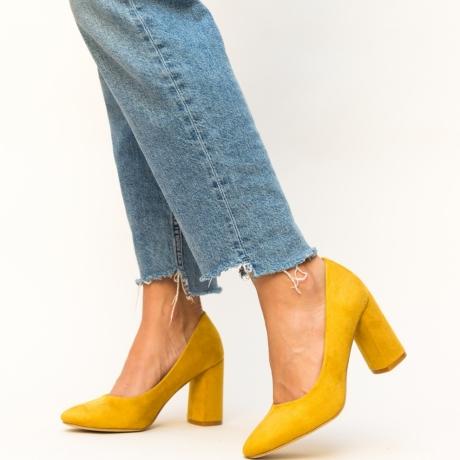 Pantofi Semna Galbeni