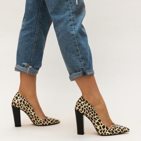 Pantofi Sohali Leopard
