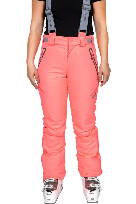 Trespass Pantaloni impermeabili cu bretele detasabile, pentru schi Marisol